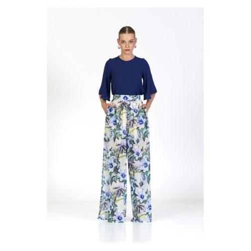 pantalón rachel azul marú atelier