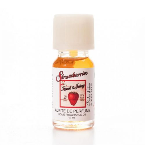 Aceite de Perfume de 10 ml con aroma a Strawberries de Boles d´Olor