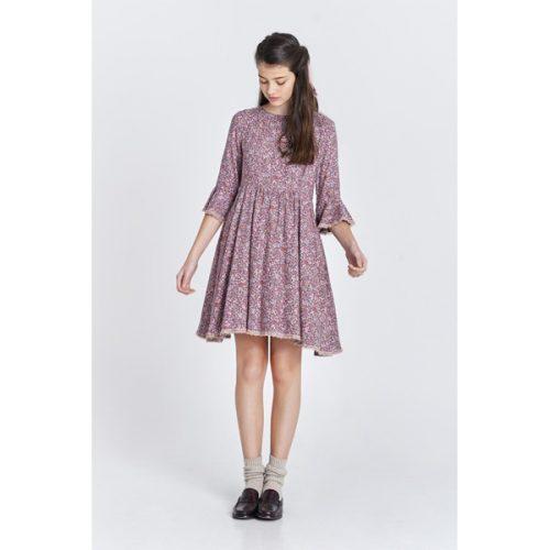 vestido janis con estampado floral de la marca maggie sweet