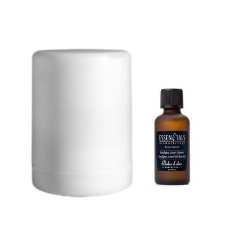 Pack recomendado Stop Resfriados con difusor Gloria y bruma 50ml de Eucaliptus