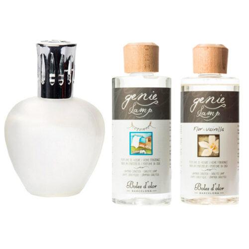 Pack recomendado El único pack que desinfecta y perfuma con lámpara Elipse Mate y dos perfumes para lámpara catalítica Cotonet y Flor de Vainilla