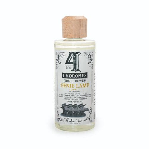 Perfume Lámpara Catalítica Gardenia 4 ladrones 500ml