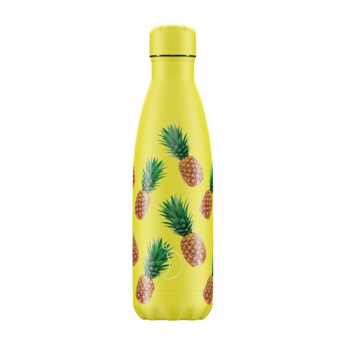 Botella Chillys isotérmica acero inoxidable piñas 500 ml