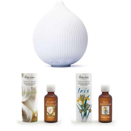 Pack difusor padma con aromas florales limpios