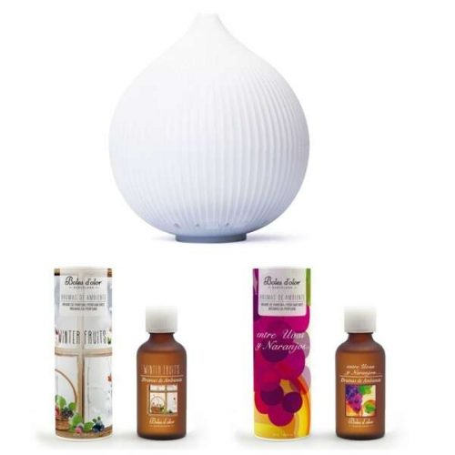 Pack difusor padma con aromas frutales dulces