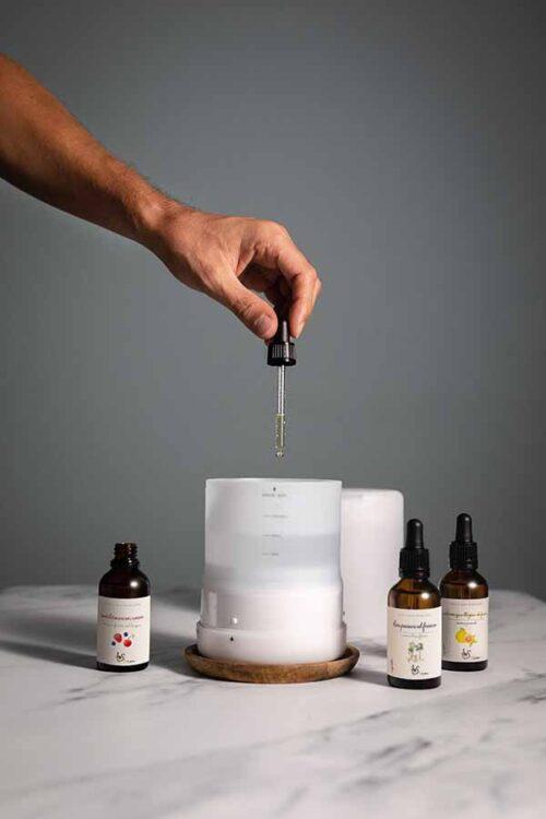 Difusor Glorias aromas gotas ambiente