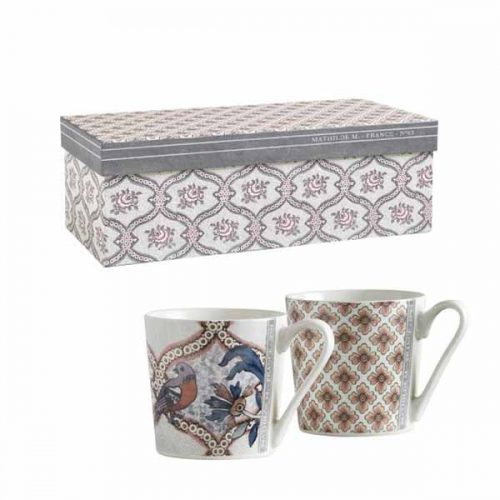 Set 2 mug pompadour 63 de Mathilde M.