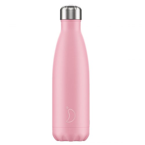 Botella acero inoxidable Chilly's color rosa pastel 500ml