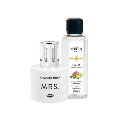 Lámpara Catalítica Cofre Mrs aroma Citrus Breeze 250ml Lampe Berger