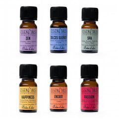 Pack con las esencias para practicar la Aromaterapia