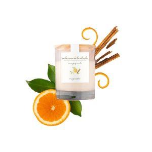 Vela perfumada canela naranja y canela