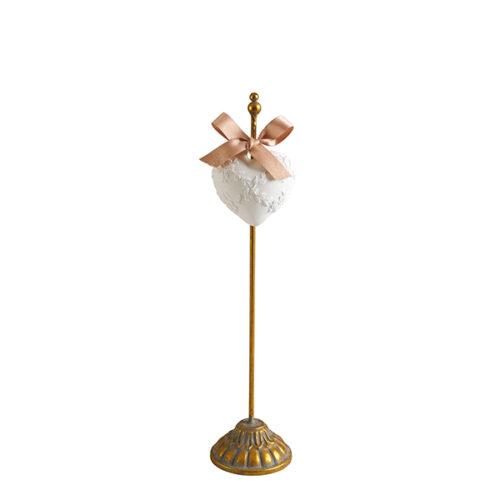 Pedestal dorado mediano Mathilde M.