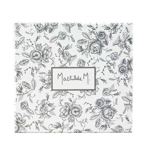 Cofre terciopelo con cremas de manos Mathilde M.