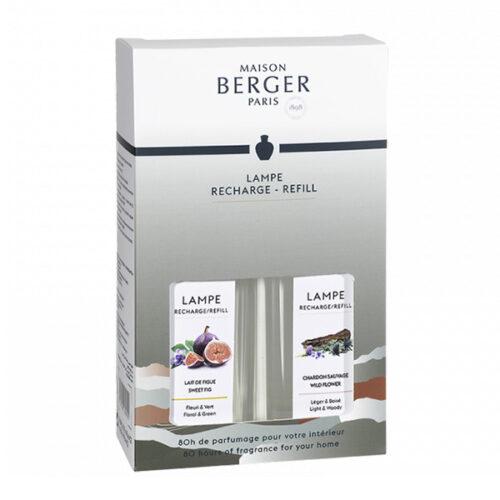 Duopack Sweet fig y Wild Flower 250ml Lampe Berger