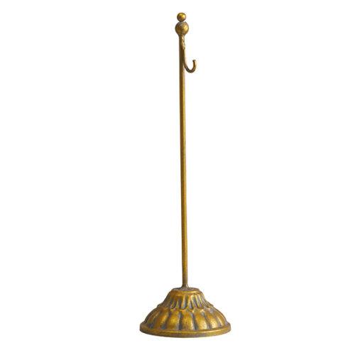 Pedestal dorado grande Mathilde M.