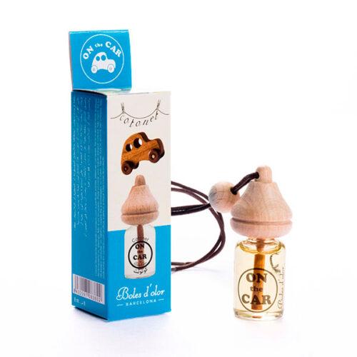 ambientador de coche aroma cotonet