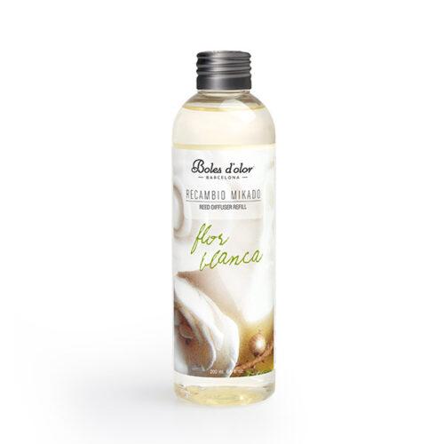recambio mikado boles d olor aroma flor blanca