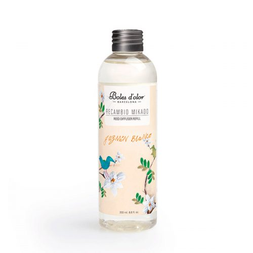 recambio mikado boles d olor aroma jazmin blanco
