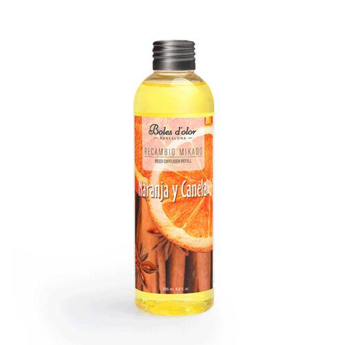 recambio mikado boles d olor aroma naranja y canela