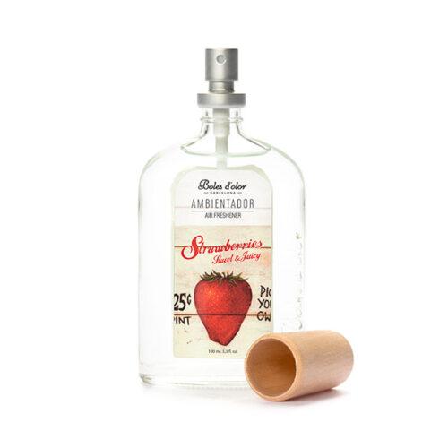 comprar ambientador spray strawberries fresa